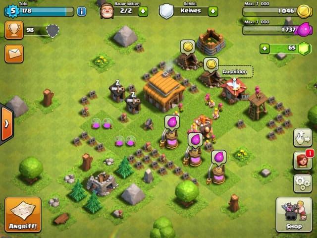 Hướng dẫn cách chơi trò chơi clash of clans cho người mới bắt đầu