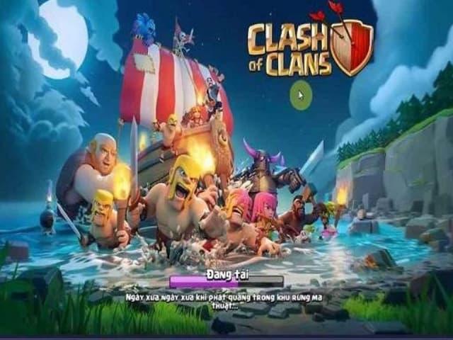 Hướng dẫn link tải clash of clans