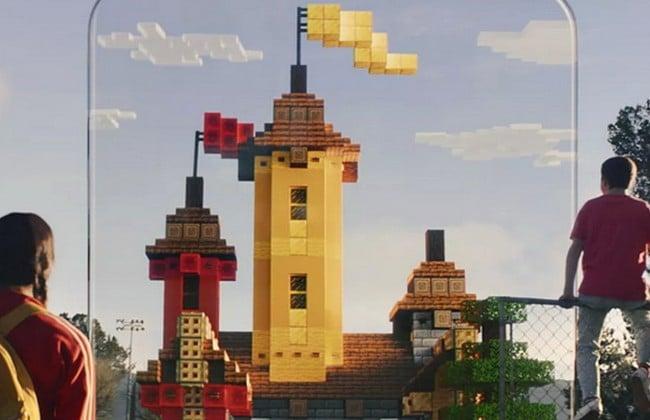 Minecraft chắc hẳn đã rất quen thuộc với mọi người, nhưng còn Minecraft Earth thì sao?