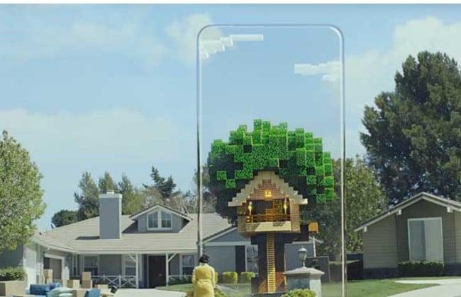 Minecraft Earth có thiết kế sống động như thật