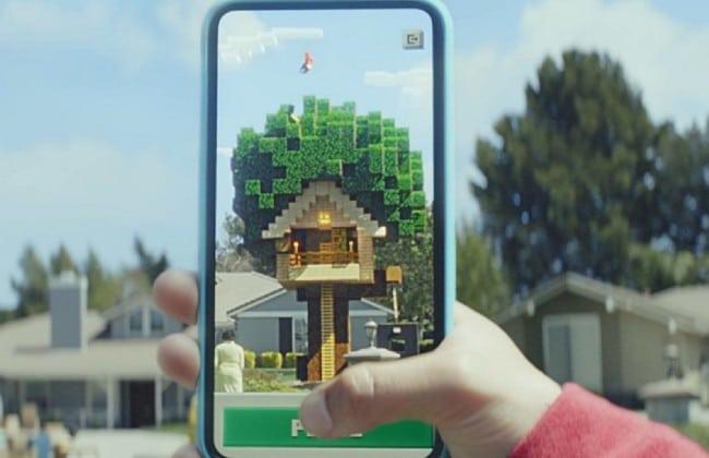 Minecraft Earth là trò chơi thực tế ảo mang đến cảm giác mới lạ cho người chơi