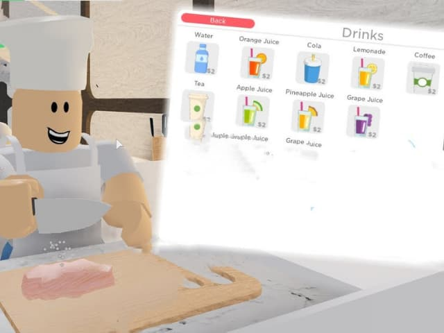 Nước uống trong roblox