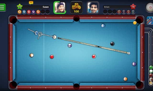 Một số phiên bản hack có tại trò chơi 8 ball pool hack