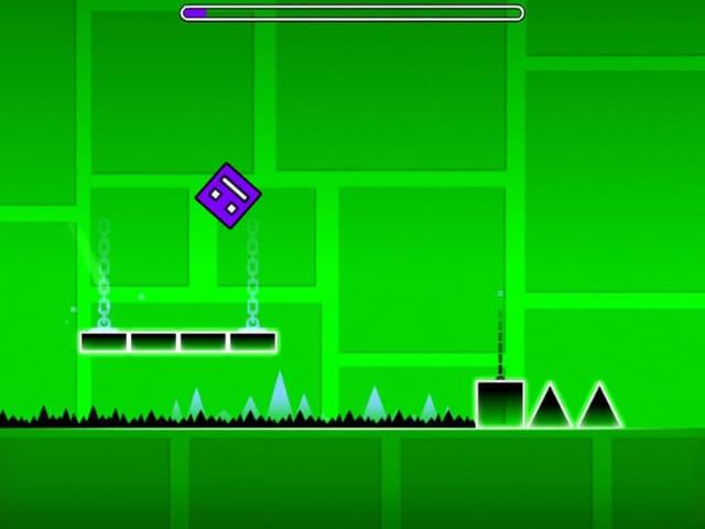 Các phiên bản của game geometry dash lite