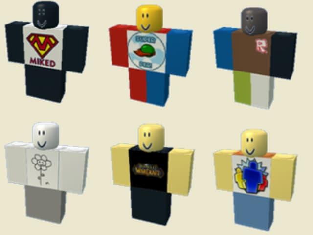 Cách tạo quần và áo sơ mi cho nhân vật trong trò chơi roblox
