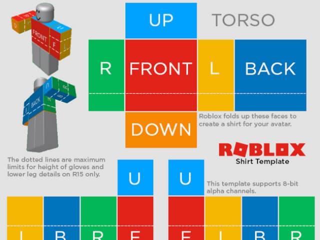 Thiết kế trang phục cho nhân vật trong game roblox