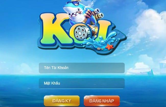 Thông tin cần thiết khi đăng nhập game bắn cá koi