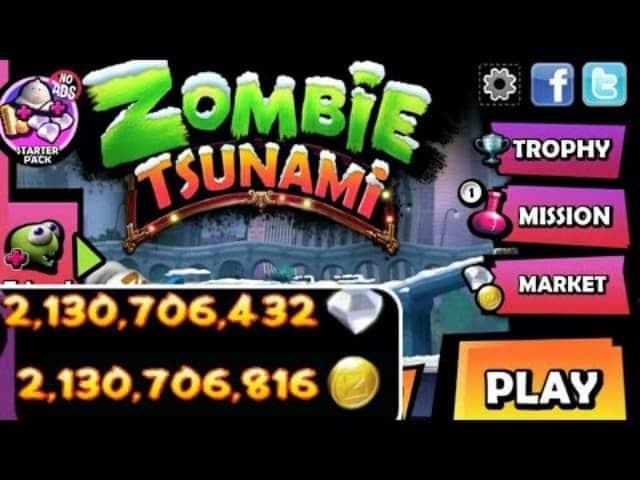 Thông tin chi tiết về hack zombie tsunami