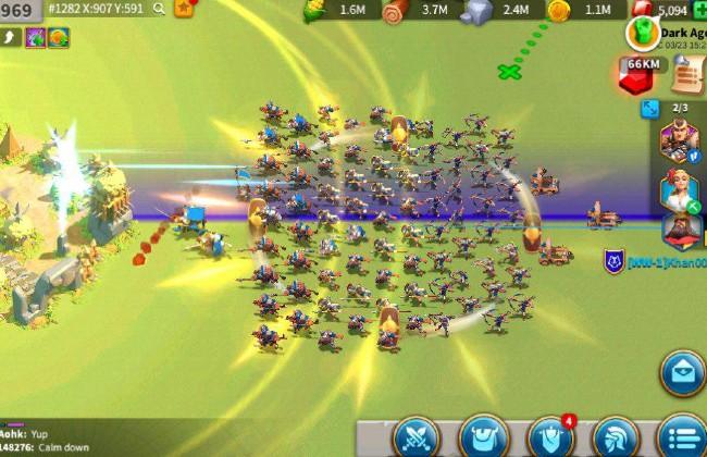 Tổng quan về trò chơi Rise of Kingdoms PC