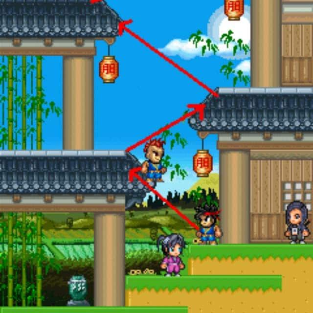 Trải nghiệm trò chơi ninja school offline