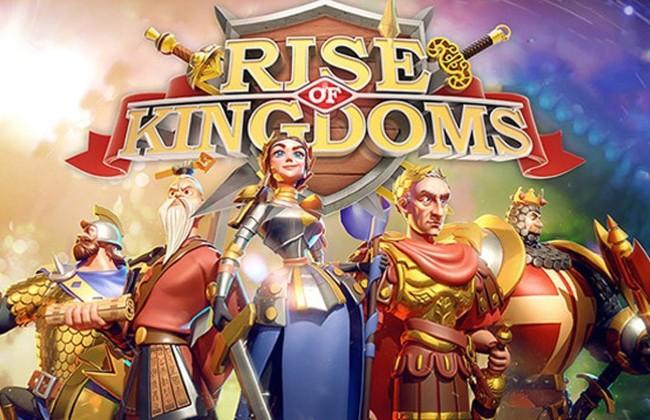 Trò chơi nổi tiếng hiện nay game Rise of Kingdoms