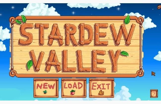 Truy cập vào trò chơi Stardew Valley mà bạn đã tải về máy