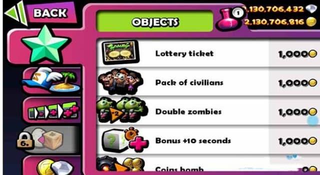 Vô hạn tiền trong trò chơi zombie tsunami