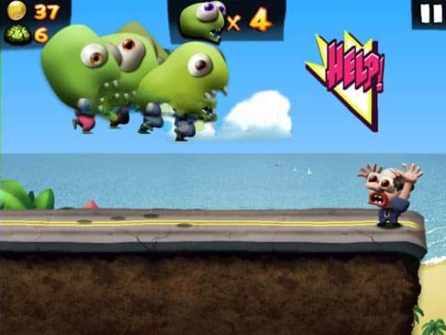 Zombie bong bóng bay
