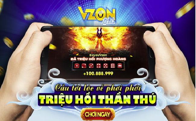 Những điểm nổi bật của cổng game quay hũ Vzon