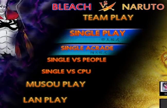 Các chế độ chơi đa dạng mà bạn có thể lựa chọn tại Naruto vs Bleach 3.5