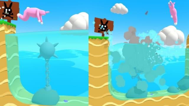 Cốt truyện của game super bunny man