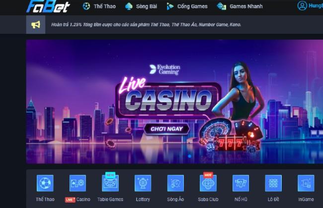 Giới thiệu sơ lược về cổng game trực tuyến Fabet com