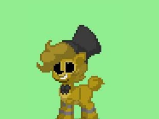 Golden Freddy - Pony town skin