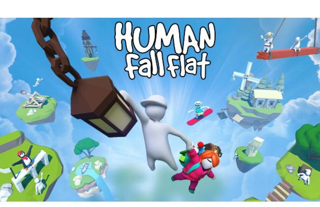 Human Fall Flat game hai người chơi PC