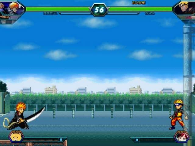 Hướng dẫn cách chơi game Bleach vs naruto 3.4