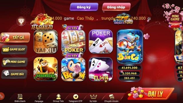 Kho game đồ sộ, đa dạng và phong phú của huthantai.club (choi.club)