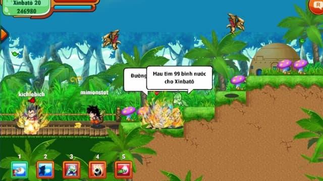 Hướng dẫn link tải game chú bé rồng online