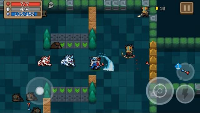Lối chơi game của soul knight