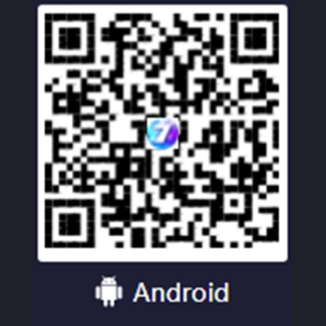 Quét mã QR để bắt đầu quá trình tải app 7ball trên Android