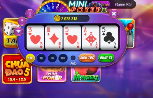 Các trò chơi Mini game hấp dẫn tại bay247