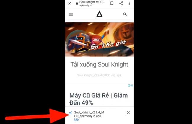 Mở file Soul Knight vừa tải về máy của bạn