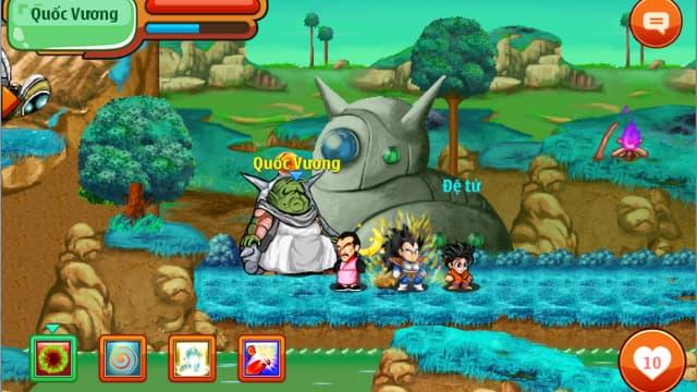 Người chơi thực hiện nhiệm vụ trong chú bé rồng