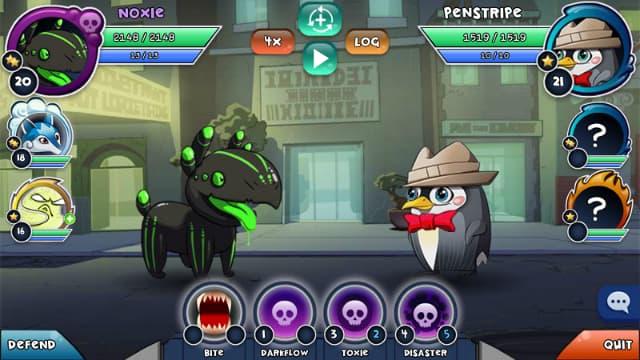 Những quái vật Curios trong game Curio quest