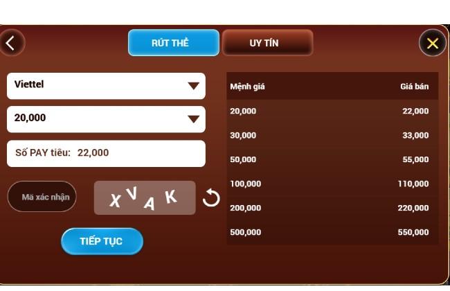 Phương thức thanh toán nhanh chóng tại Pay club