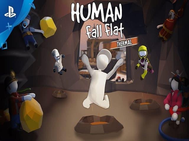 Thế giới game human fall flat thật tuyệt vời và hấp dẫn