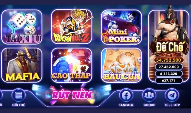 Một số thể loại game có trong game vivu