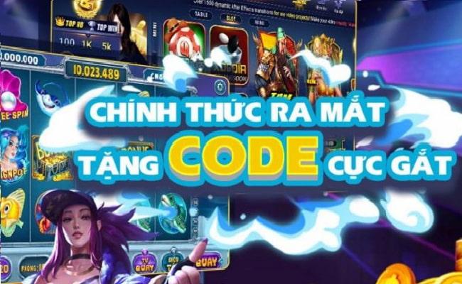 Tặng code là hình thức khuyến mãi hay dùng trong Nổ hũ