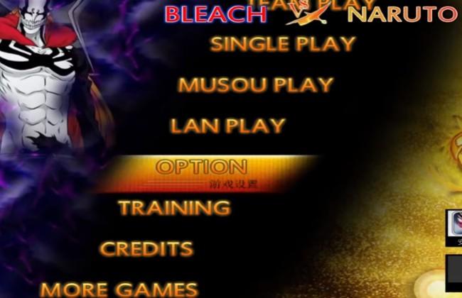 """Vào mục """"Option"""" để điều chỉnh một số yếu tố cần thiết cho trò chơi"""
