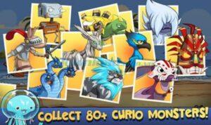 Xây dựng đội quân hùng mạnh từ việc thu thập nhiều quái vật Curio (80 quái vật)