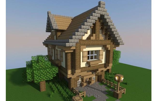 Xây nhà tại Minecraft PE APK nhanh chóng