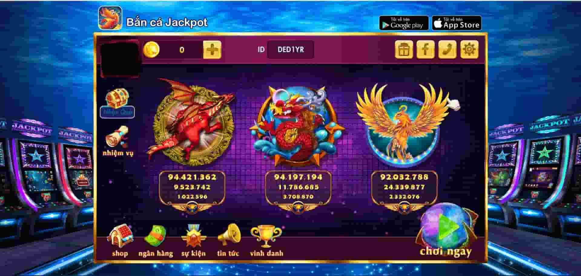 Các thể loại game đa dạng tại Bắn cá Jackpot