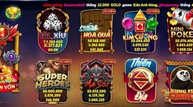 Kho game quay 88 đa dạng trò chơi hấp dẫn
