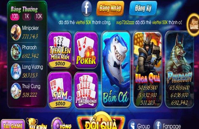 Những trò chơi với đa dạng thể loại tại cổng game Bigwin99