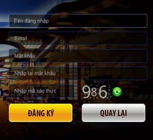 Đăng ký tài khoản tại Iplay game bài đổi thưởng