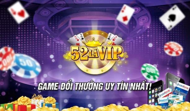 Giao diện của game bài Vip52