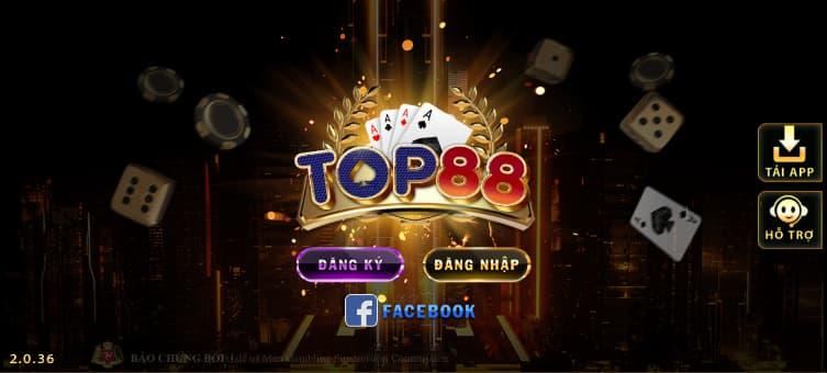 Top88 cổng game đầy thú vị
