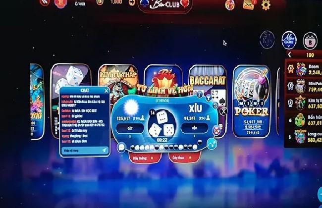 Những trò chơi hấp dẫn được yêu thích tại Binclub