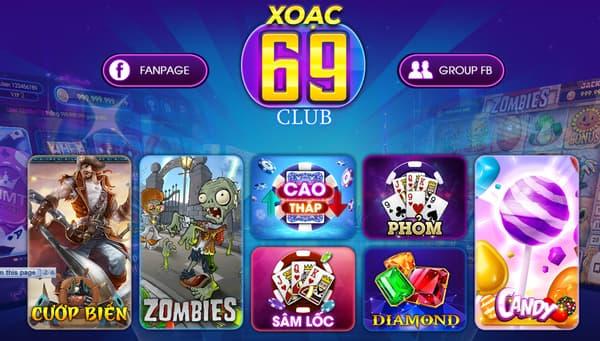 Đa dạng các thể loại trò chơi tại nhà cái uy tín Xoac69