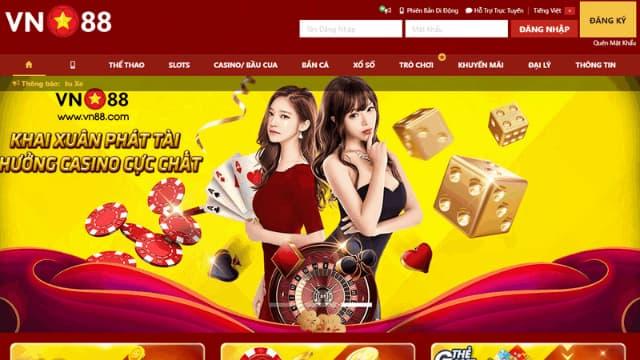 Game bài casino trực tuyến